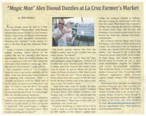 Alexander Daoud News Article 1